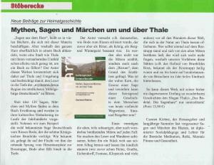 Buchrezension Harzklub 2